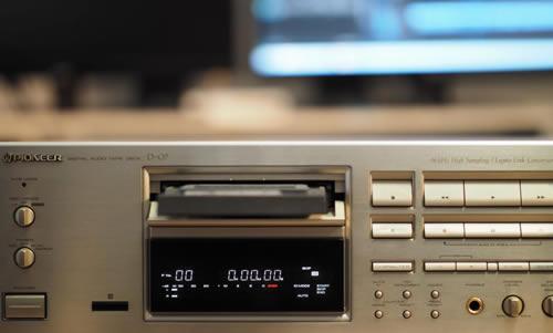 La cassette DAT