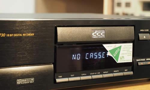 La cassette compacte digitale